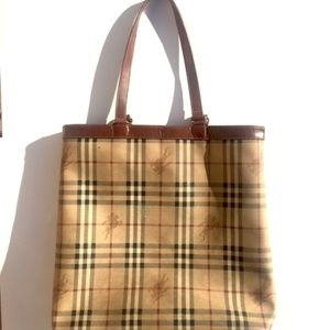Authentic Vintage BURBERRY Tote